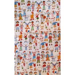 <br>Emma Ball 【EBTT46】<br>Tea Towel ティータオル 100% コットン<br>Stitched Birdies
