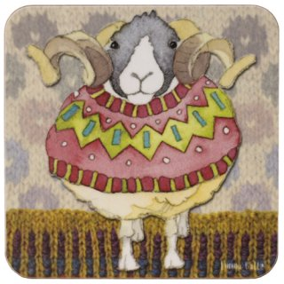 <br>Emma Ball 【EBCW072】<br>Coaster コースター<br>Sheep in Sweaters 1