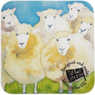 <br>Emma Ball 【EBCW013】<br>Coaster コースター<br>SHEEP