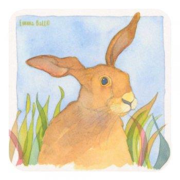 <br>Emma Ball 【EBCW018】<br>Coaster コースター<br>Hare