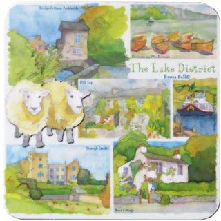 <br>Emma Ball 【EBCW031】<br>Coaster コースター<br>Lake District