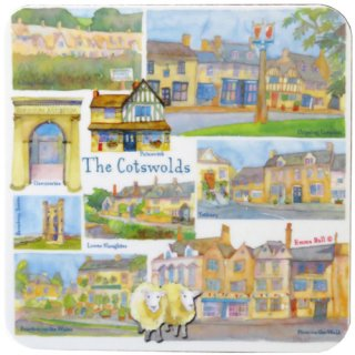 <br>Emma Ball 【EBCW032】<br>Coaster コースター<br>Cotswolds