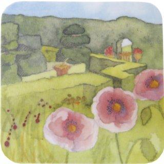 <br>Emma Ball 【EBCW034】<br>Coaster コースター<br>Topiary Garden