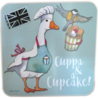 <br>Emma Ball 【EBCW046】<br>Coaster コースター<br>Cuppa & Cup Cake