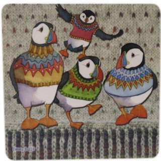 <br>Emma Ball 【EBPS02】<br>Pot Stand ポットスタンド<br>Woolly Puffins