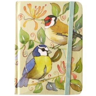 <br>Emma Ball 【EBMB01】<br>Hardback Memo Book ペーパーバックノートブック<br>Garden Birds