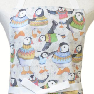 <br>Emma Ball 【EBCA707】<br>Apron エプロン<br>Woolly Puffins