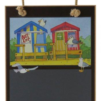<br>Emma Ball 【CBH127】<br>Chalkboard ブラックボード<br>Beach Huts