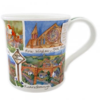 <br>Emma Ball 【DNYK1】<br>Dunoon Mug (BUTE) マグカップ<br>County of Yorkshire