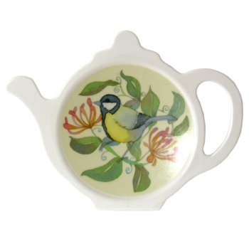 <br>Emma Ball 【EBTY8】<br>Tea Bag Tidy ティートレー<br>Birds and Haneysuckle