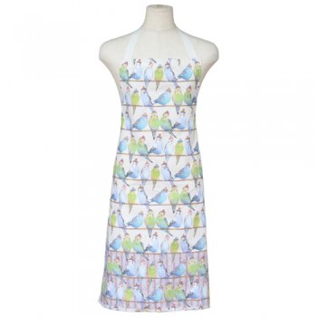 <br>Emma Ball 【EBCA710】<br>Apron エプロン<br>Budgies in Beanies