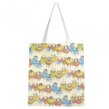 <br>Emma Ball 【EBTOTE11】<br>Canvas Tote Bag キャンバス トート バッグ<br>Sheep in Sweaters
