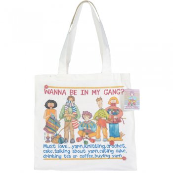 <br>Emma Ball 【EBTOTE13】<br>Canvas Tote Bag キャンバス トート バッグ<br>Wanna Be in My Gang