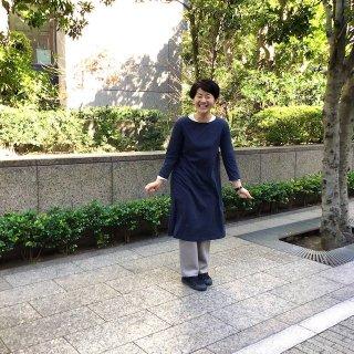 MILFOIL 7分袖ワンピース(o)