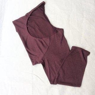 シルクの七分袖インナー (o)