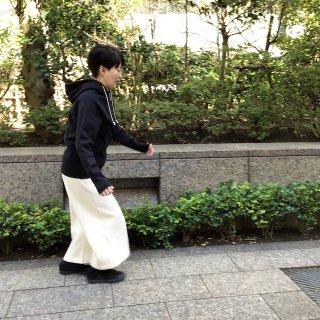 yohaku起毛極太パンツ キナリ(o)