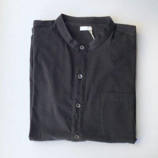 yohakuコットンカシミヤシャツ 黒(o)