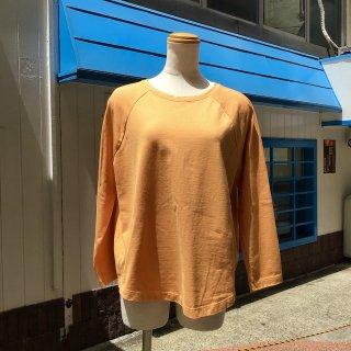 <img class='new_mark_img1' src='https://img.shop-pro.jp/img/new/icons13.gif' style='border:none;display:inline;margin:0px;padding:0px;width:auto;' />yohaku ラグラン9分袖Tシャツ オレンジ(o)