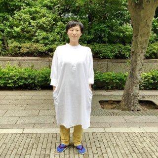 miiThaii  カディーコットン ロングシャツ(o)