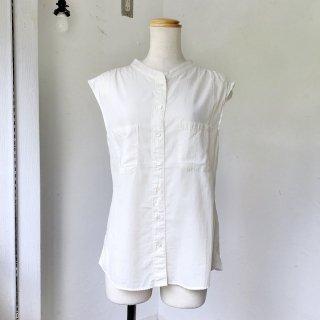MILFOIL ローン ノースリーブシャツ(o)