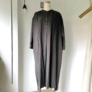 suzuki takayukiさん kurta dress charcoal gray(o)