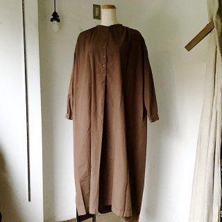 suzuki takayukiさん kurta dress walnut(o)