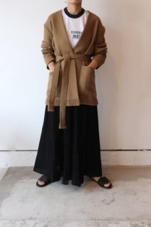 <img class='new_mark_img1' src='https://img.shop-pro.jp/img/new/icons2.gif' style='border:none;display:inline;margin:0px;padding:0px;width:auto;' />CURRENTAGE SEE-THROUGH PLEATS LONG SKIRT