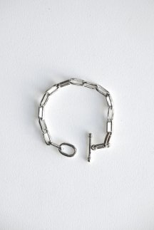 <img class='new_mark_img1' src='https://img.shop-pro.jp/img/new/icons5.gif' style='border:none;display:inline;margin:0px;padding:0px;width:auto;' />R.ALAGAN CLASSIC CHAIN BRACELET SILVER