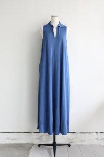 CURRENTAGE KNIT DRESS ROYAL BLUE