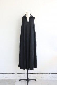 CURRENTAGE KNIT DRESS BLACK