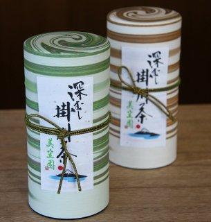 深蒸し掛川茶200g 2缶セット