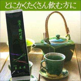 【6月下旬お届け】新茶 掛川の城 200g【深蒸し掛川茶/産地直送】