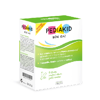 PEDIAKID  Bebe Gaz(ペディアキッドベベガズ)|赤ちゃんの腸内環境対策|ヴィーガン(約12回分)