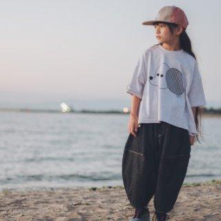 <予約商品>WEB限定 ブラックデニムのポインテッドパンツ オトナサイズの商品画像