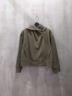 <img class='new_mark_img1' src='https://img.shop-pro.jp/img/new/icons1.gif' style='border:none;display:inline;margin:0px;padding:0px;width:auto;' />Boutique Ordinary Sweat Draped Motorcycle Jacket