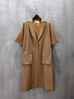 THOMAS MAGPIE short sleeve coat
