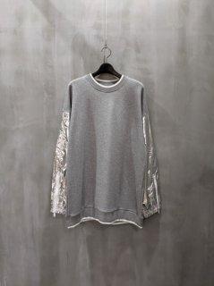 Maison Margiela Metallic Sleeve Sweatshirt