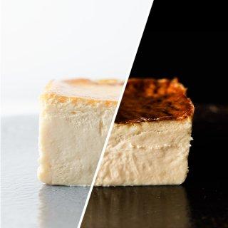 チーズケーキ2種(クリーム/カマンベール)レギュラーサイズセット