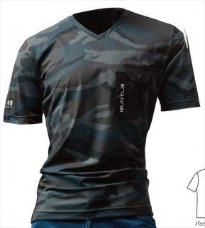 4057VネックTシャツ