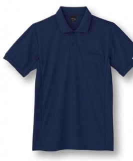 85894吸汗速乾半袖ポロシャツ
