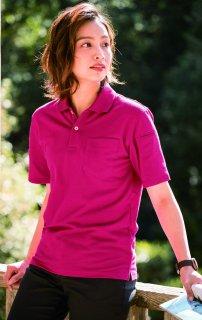 6020カノコ半袖ポロシャツ