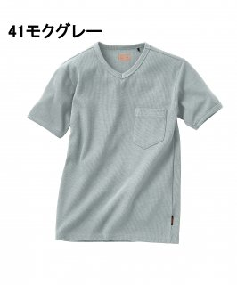 DG804リブニット半袖Tシャツ