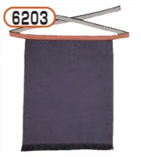 6203腰下帆前掛け(紺)広幅
