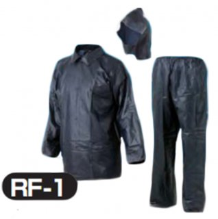 RF-1レインファクトリー ビニールレインスーツ ネイビー