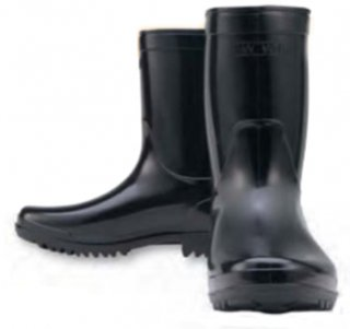 WW-724作業半長靴(PVC)