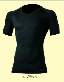 50343 半袖サポートVネックシャツ