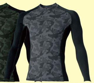 50630 長袖サポートクルーネックシャツ