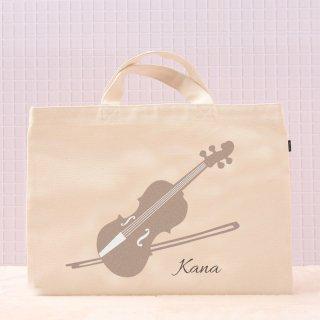 レッスンバッグ ならいごと - バイオリン×りぼん