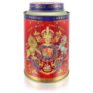 エリザベス女王陛下II 戴冠60周年記念デザイン缶