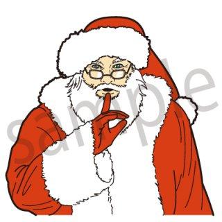 サンタクロース イラスト(クリスマス、イベント)